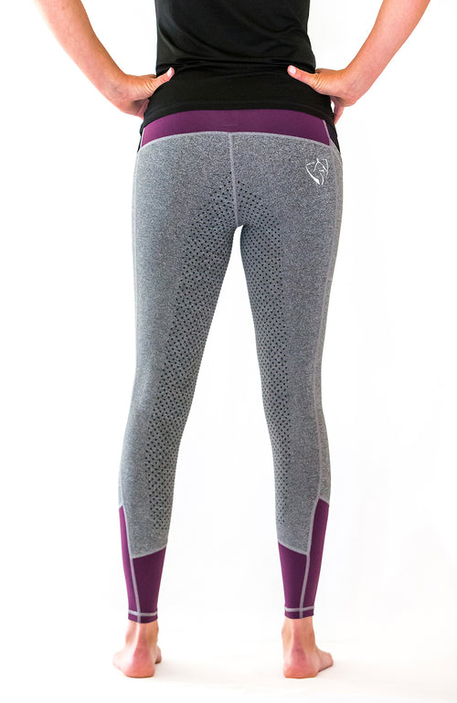 No Grip BARE Performance Tights - Berry
