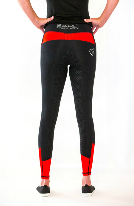 Youth Performance Tights - Black Rider