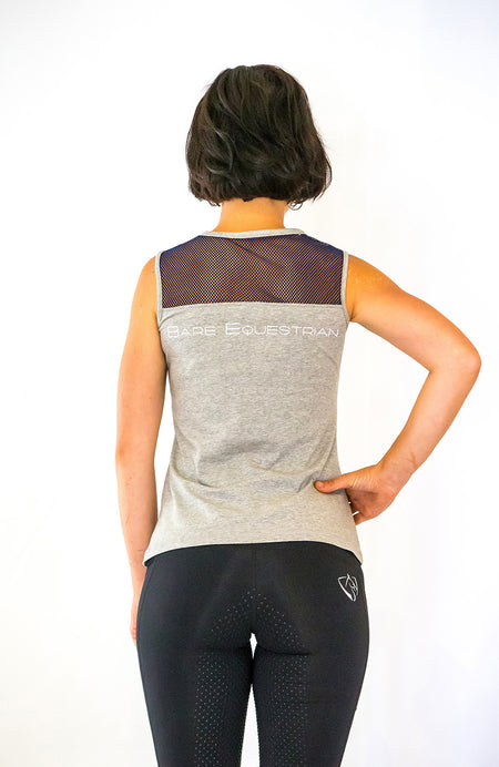 BARE Tank Top - Black/Grey
