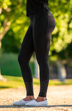 BARE Performance Riding Tights - Black Camouflage