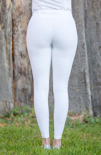 No Grip BARE Performance Tights - Snow White