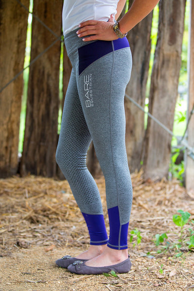 Youth Performance Tights - Imperial Grey