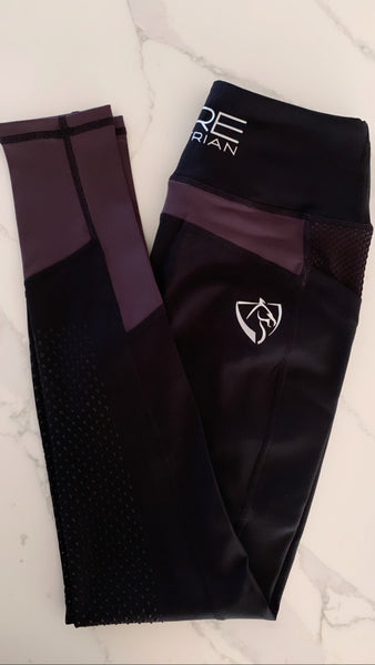 BARE Performance Riding Tights - Blackcurrant