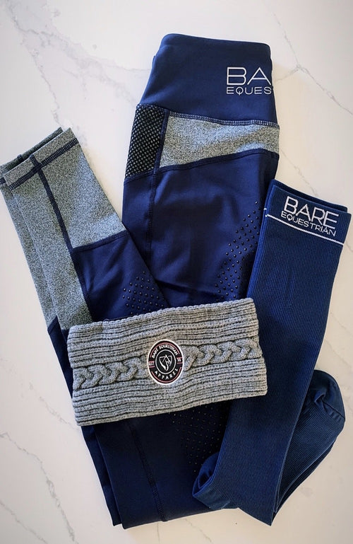 BARE Compression Sock - Logo - Navy Adults