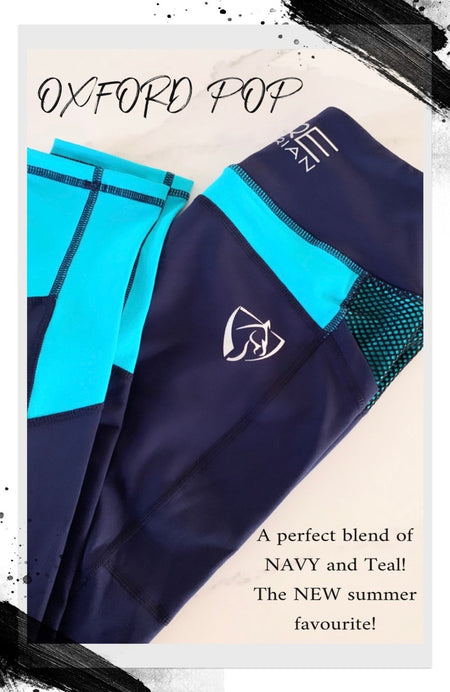 BARE Performance Riding Tights - Ice Queen