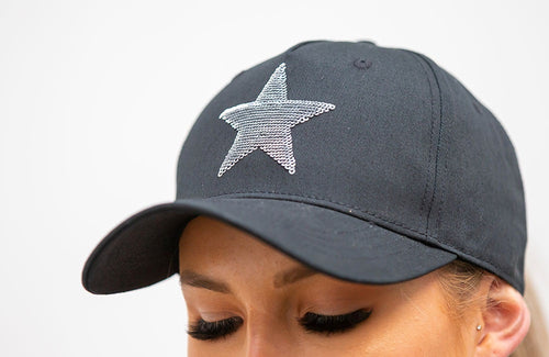 BARE Sequin Cap