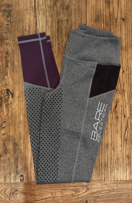 Youth Performance Tights - Berry