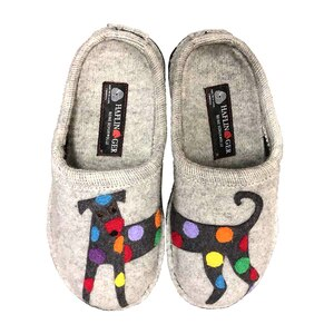 HAFLINGER - DOG PRINT - SLIPPER