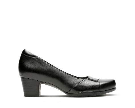 Clarks - Rosalyn Belle black Leathers