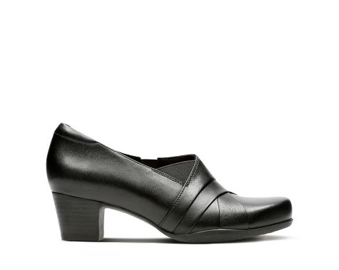 Rosalyn Adele Black Leather - Clarks