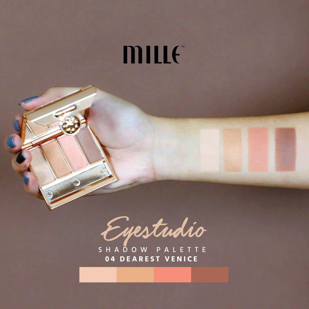Mille Eyestudio Shadow Palette #04 Dearest Venice
