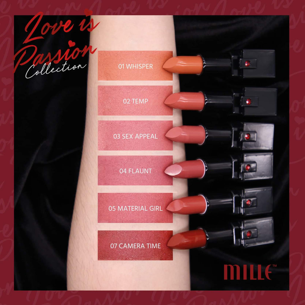 LOVE IS PASSION LIPSTICK 06 RULES OF ATTRACTION