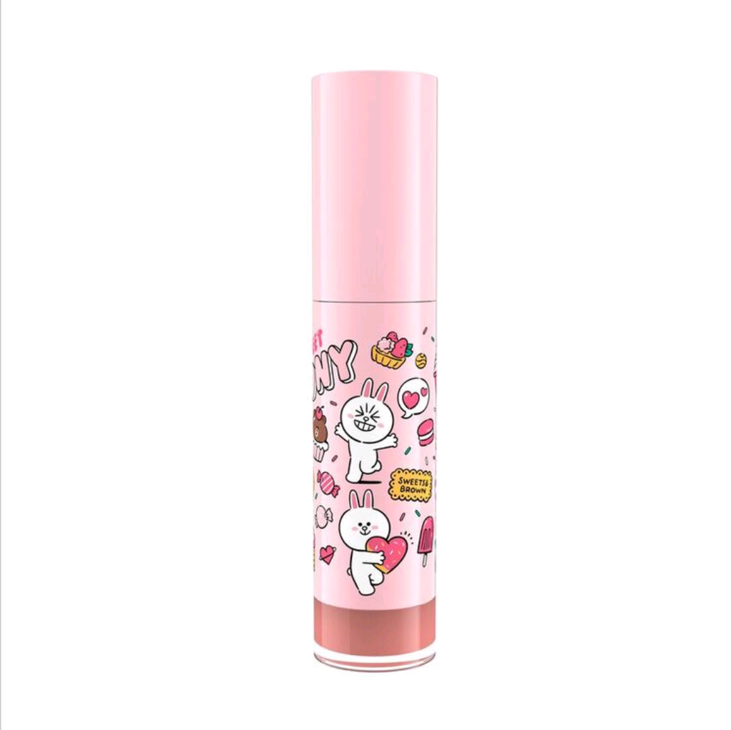 LINE FRIENDS l MILLE ICONIC MATTE LIQUID LIP #02 CONY