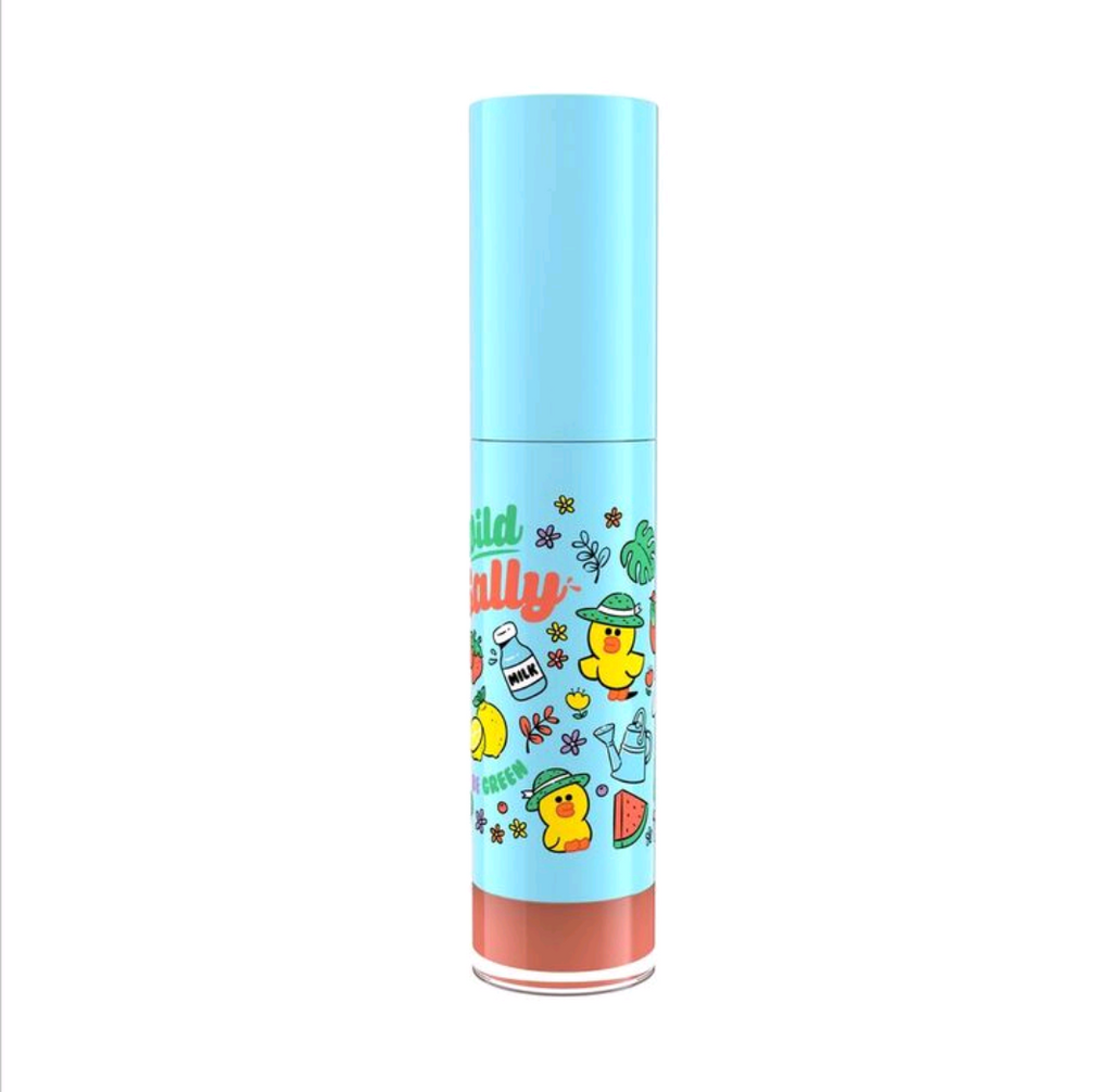 LINE FRIENDS l MILLE ICONIC MATTE LIQUID LIP #04 SALLY