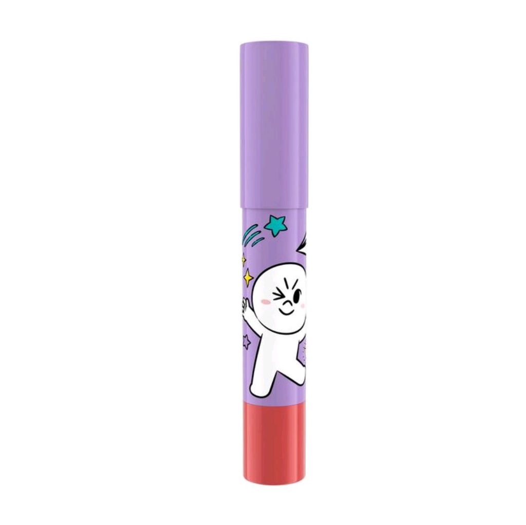 LINE FRIENDS l MILLE ICONIC CRAYON LIP COLOR #06 MOON