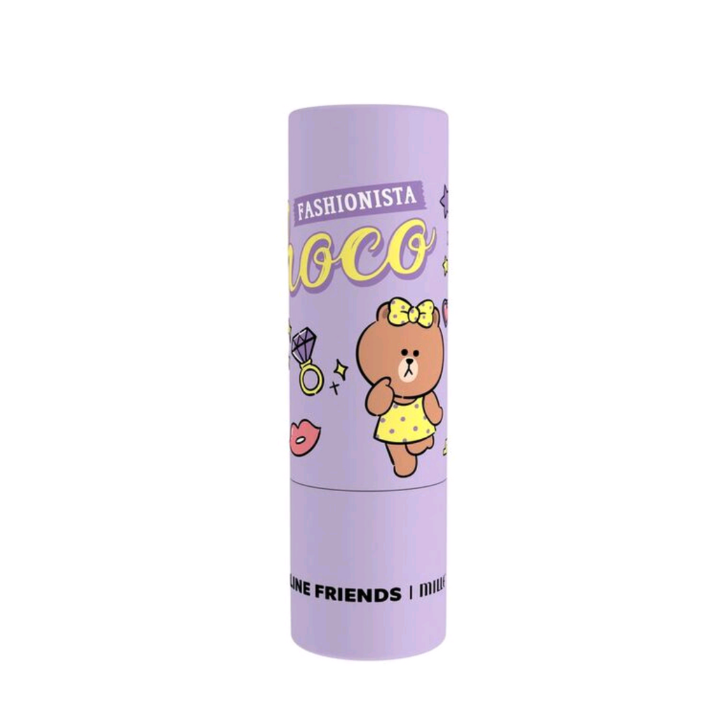 LINE FRIENDS|MILLE ICONIC LIP COLOR #03 CHOCO