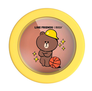 LINE FRIENDS l MILLE LOVABLE BLUSHER #01 BROWN