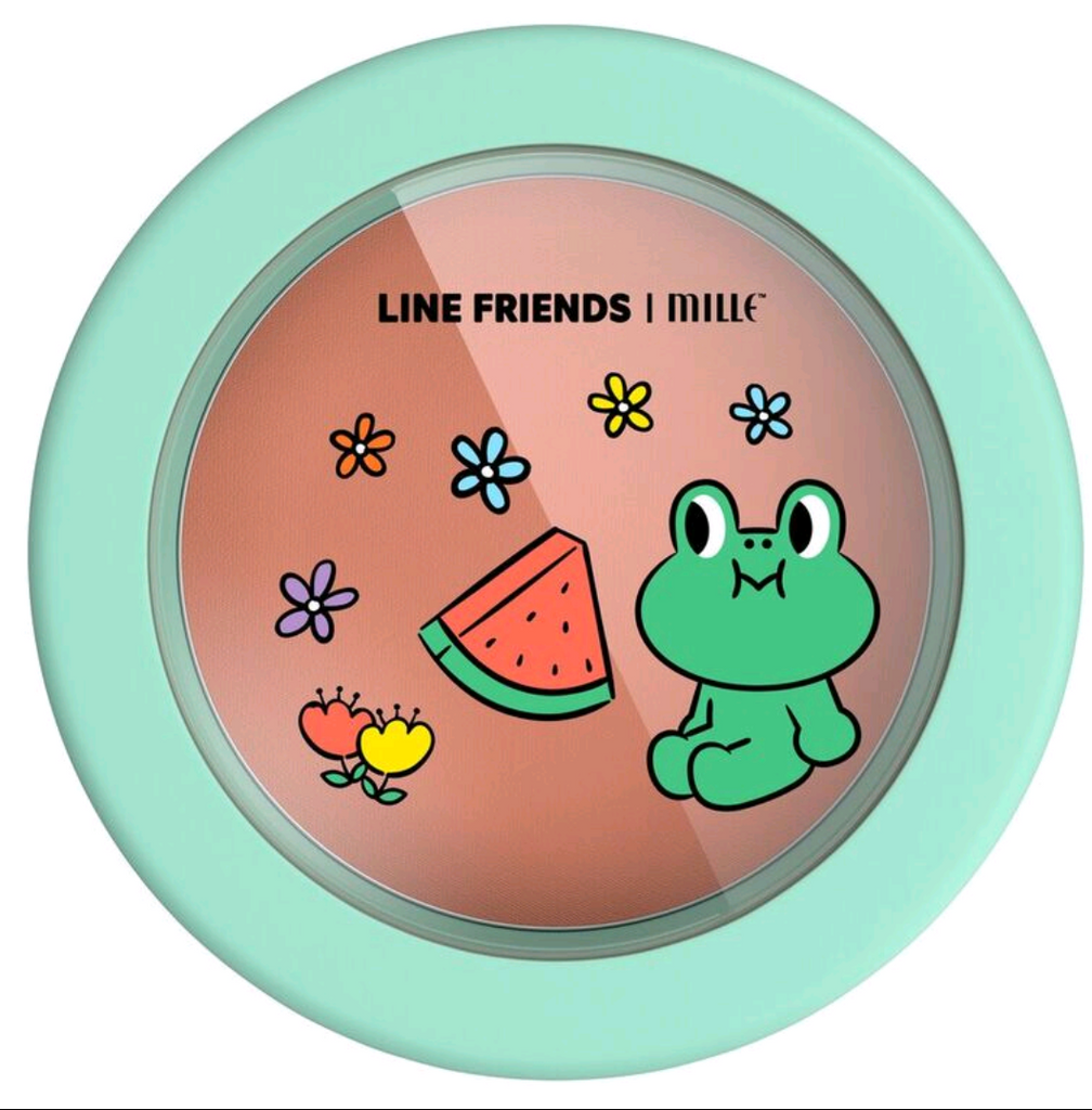 LINE FRIENDS l MILLE LOVABLE BLUSHER #05 LEONARD