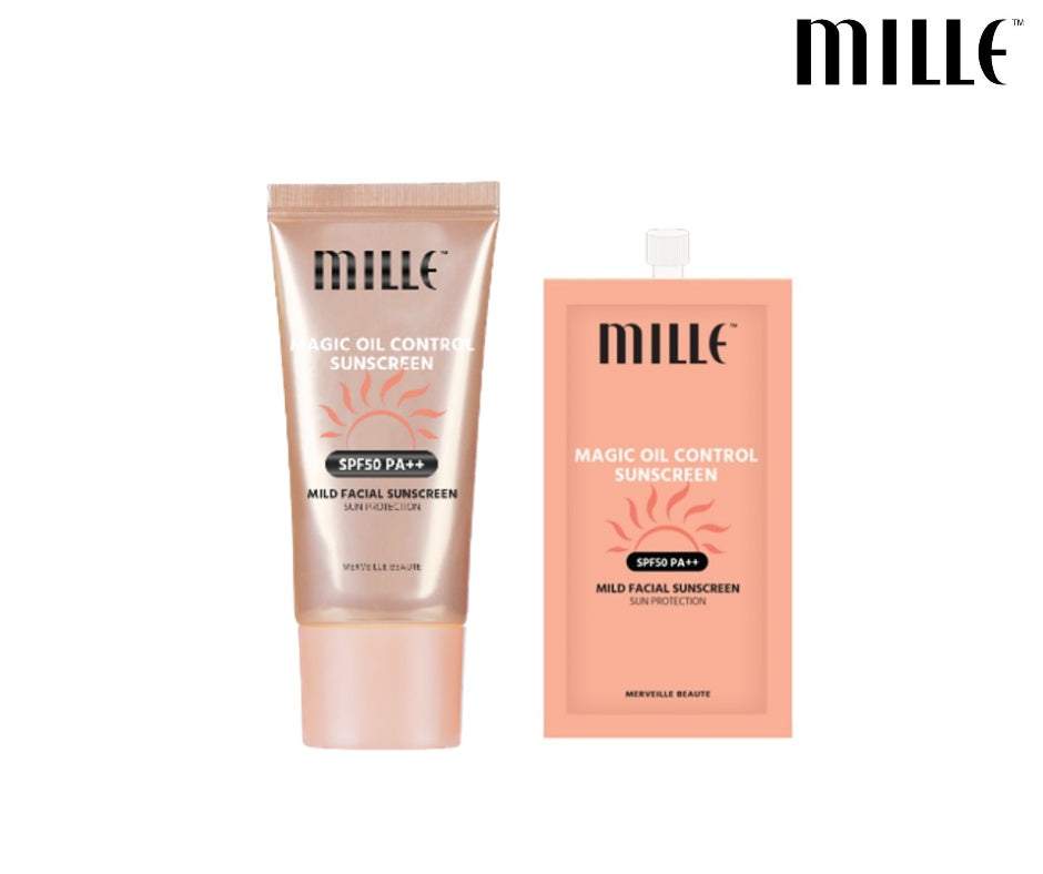 MILLE Magic Oil Control Sunscreen SPF 50 PA++
