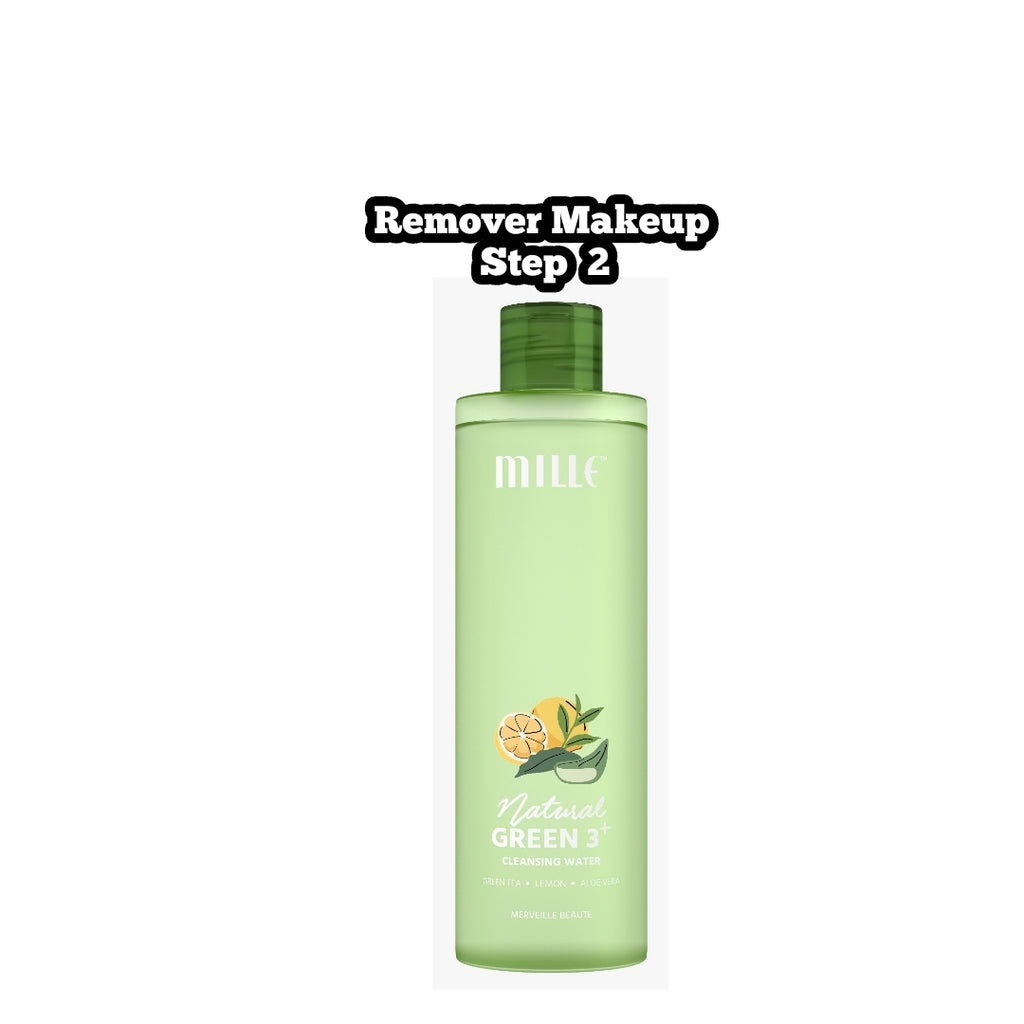 MILLE Natural Green 3+ Cleansing Water
