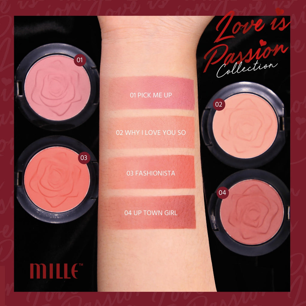 LOVE IS PASSION BLUSHER 01 PICK ME UP