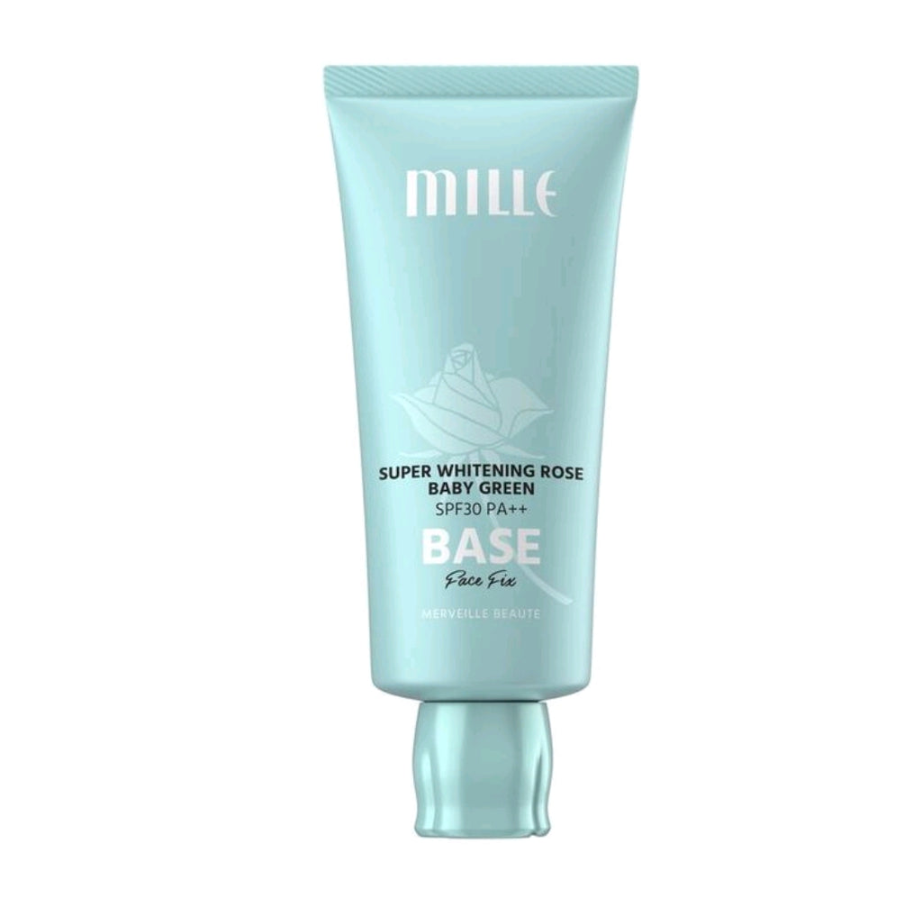 MILLE Baby Green Base SPF 30 PA++ Face Fix