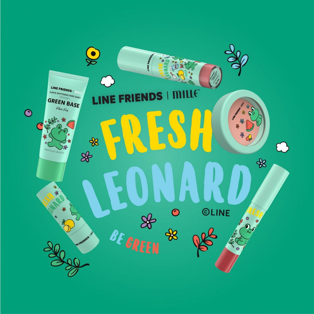 LINE FRIENDS l MILLE ICONIC MATTE LIQUID LIP #05 LEONARD