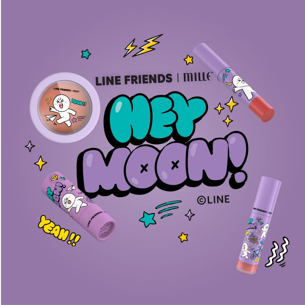 LINE FRIENDS l MILLE ICONIC MATTE LIQUID LIP #06 MOON