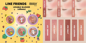 LINE FRIENDS l MILLE LOVABLE BLUSHER #04 SALLY