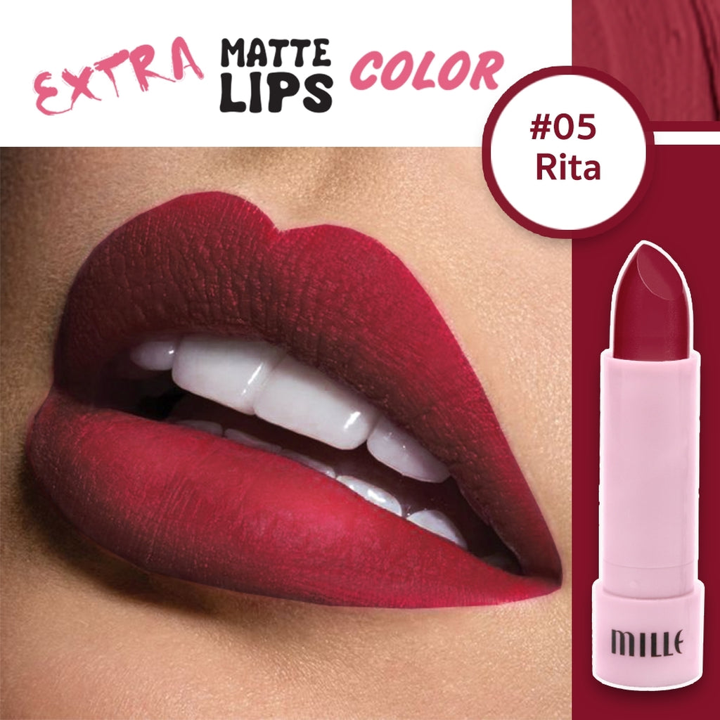 EXTRA Matte Lip Color #05 Rita