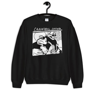 Sonic Dabs Sweatshirt - Black - Cannibal Sativa