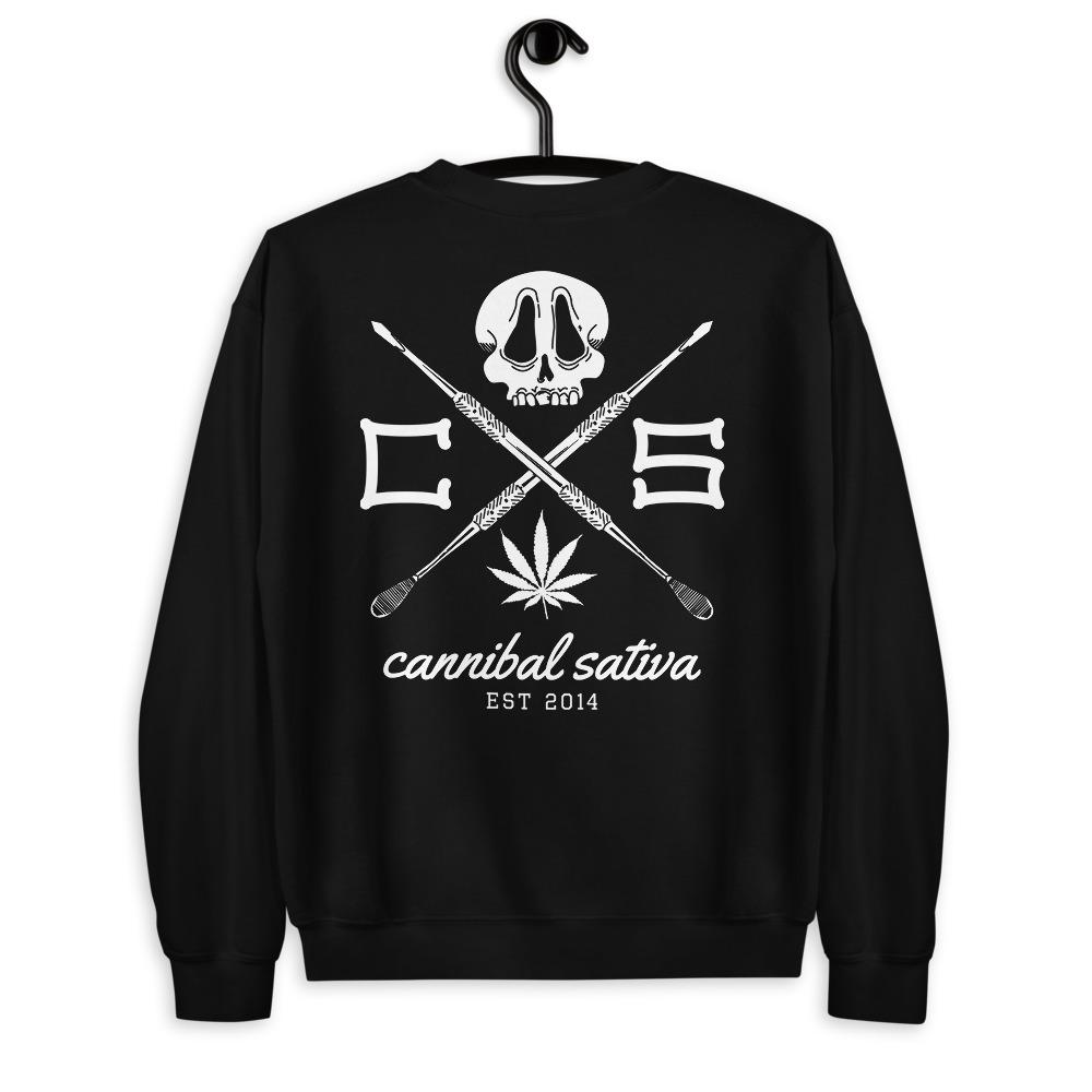 Established Dabber Sweatshirt - Black - Cannibal Sativa