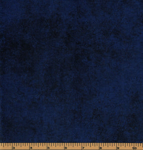Blue with Black Shadow Play - Fat Quarter
