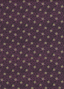 Lime Green and Purple Circles - Fat Quarter