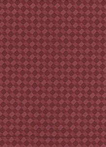 Maroon Diamond Fabric - Fat Quarter