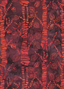Orange Tree Batik - Fat Quarter