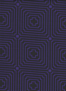 Purple Lines Fabric - Fat Quarter