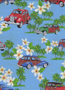 Hawaiian Fabric - Fat Quarter