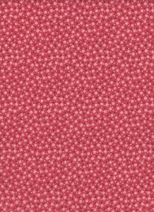 Pink and Red Confetti Fabric - Fat Quarter