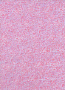 Pink and Purple Dot Fabric - Fat Quarter