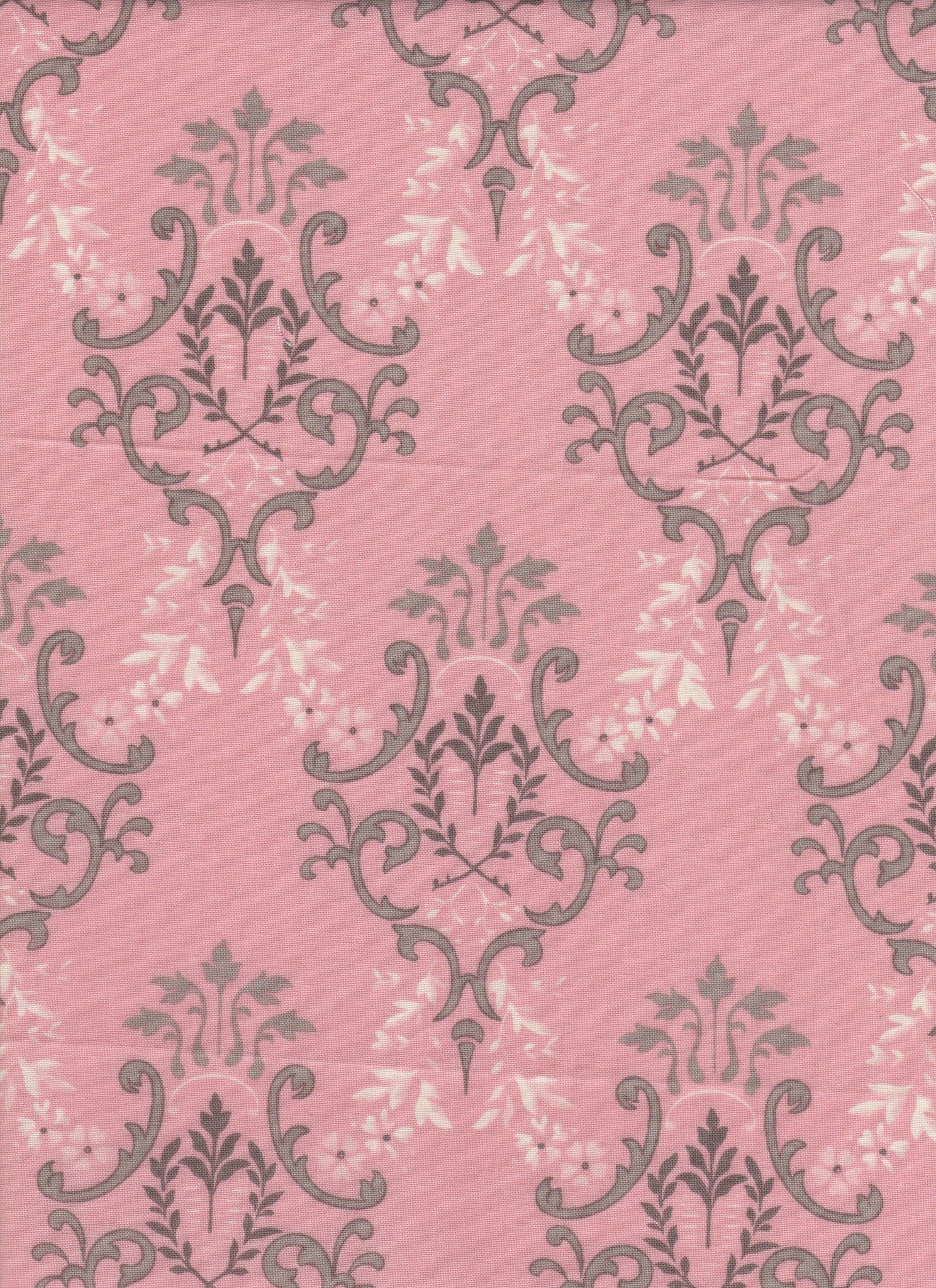 Pink Victorian Fabric - Fat Quarter