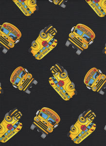 School Bus Fabric - Fat Quarter