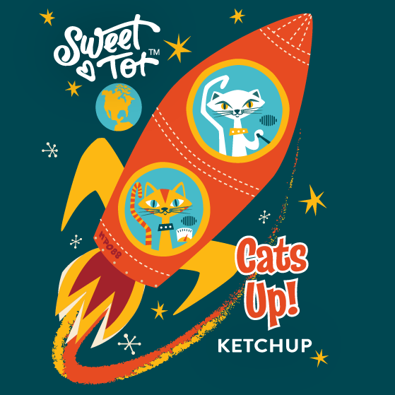 Cats Up Ketchup