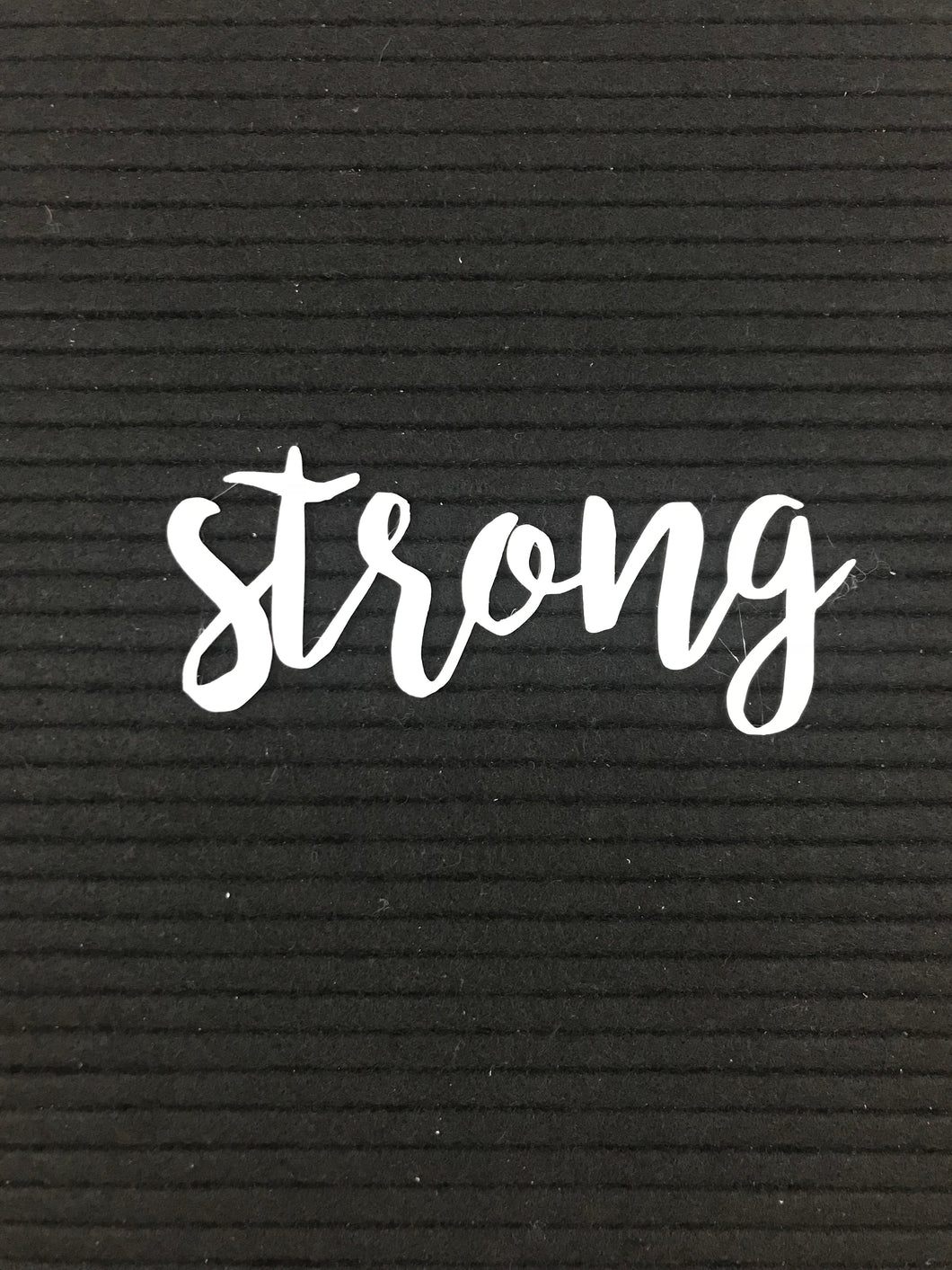 Inspirational - strong
