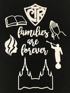 "LDS - ""families are forever"""