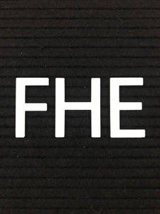 FHE - Block Letters