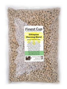 Morning Blend - Unroasted Ethiopian Coffee