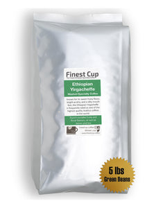 Ethiopian Yirgacheffe - Unroasted Washed Coffee