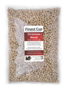 Ethiopian Christmas Blend - Unroasted Washed Coffee