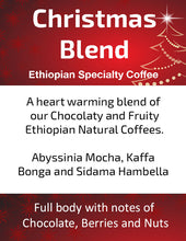 Load image into Gallery viewer, Ethiopian Christmas Blend - Unroasted Washed Coffee